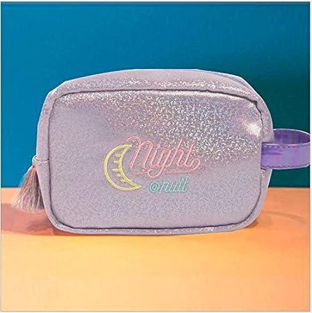ANNIUP - Neceser portátil para Viaje, Organizador de Maquillaje, Estuche de Almacenamiento, Accesorios de Viaje, joyería y cosméticos (Amarillo): Amazon.es: Hogar