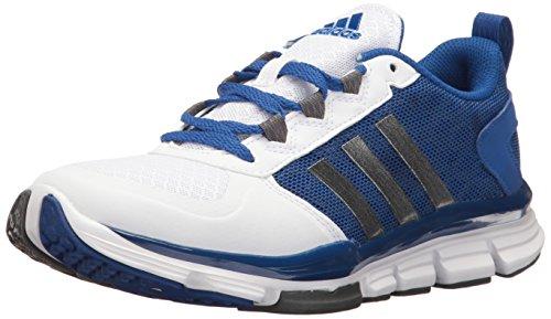 Adidas Originals Mens Maniaco X Carbonio Allenatore Metà Croce Collegiale Reale / Carbonio Incontrato. S14 / Bianco
