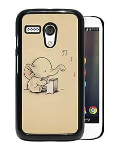 Individual Design Phone Case Elephant Black Popular Sale Motorola Moto G Phone Case