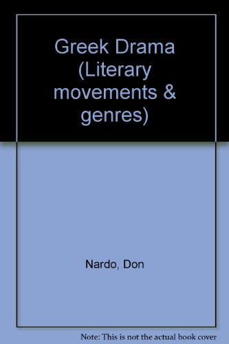 Literary Movements and Genres - Greek Drama (hardcover edition)
