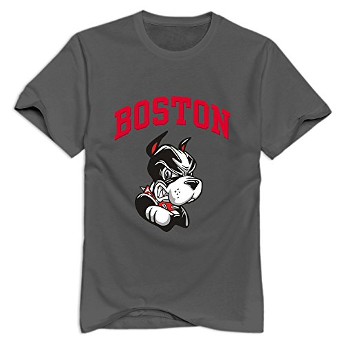 fan products of Tavil Boston University Terriers 100% Cotton T-shirt For Men DeepHeather Size S