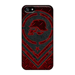 FfXBA18934IGWSM Mulisha Dplate Red Fashion Tpu 5/5s Case Cover For Iphone