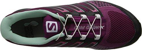 Salomon Femmes X Vent Pro W Trail Chaussure De Course Mystique Violet / Noir / Igloo Bleu