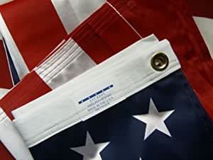 SKYINNO® Valley Forge US American Flag 3'x5' ULTRA KNIT Polyester 100% Made in the USA