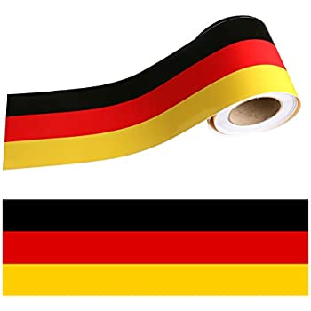 Amazon Com Ijdmtoy 1 10 Quot Germany Flag Color Stripe Decal