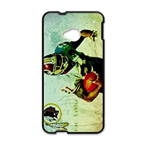 Happy Washington Redskins Cell Phone Case for HTC One M7