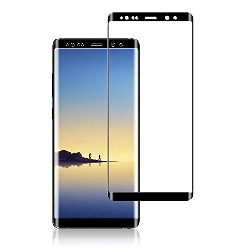 Galaxy Note 8 Screen Protector Tempered Glass 3D Full Coverage High Definition Clear Anti-Scratch Anti-Bubble Screen Protector for Samsung Galaxy Note 8 (1-Pack)