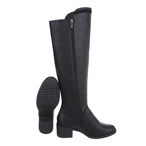 Damen Stiefel Moderne Schuhe Stiefel Moderne Schwarz Schuhe Damen vtqxX