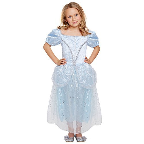 Cinderella 'Lost Shoe' Princess Costume (7-9 years) by Henbrandt - Cinderellas Lost Shoe