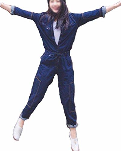 Klorim Azul Mujer Klorim Mujer Para Azul Mono Mono Para 68qx6rtw