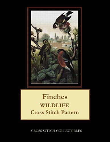 Finches: Wildlife Cross Stitch Pattern
