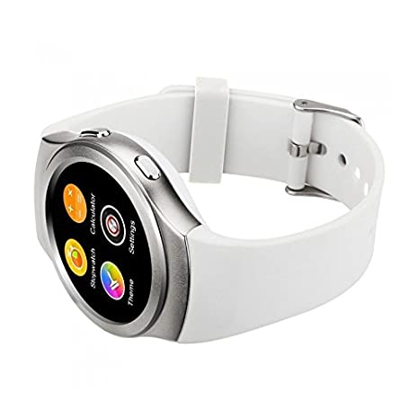 Biwond - Smartwatch Sport no.1 g3 sim+SD Bluetooth 4.0 Blanco ...
