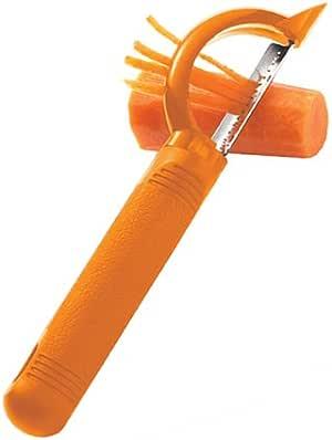 Messermeister Cooks Tools Vegetable Peelers, Orange, 72743
