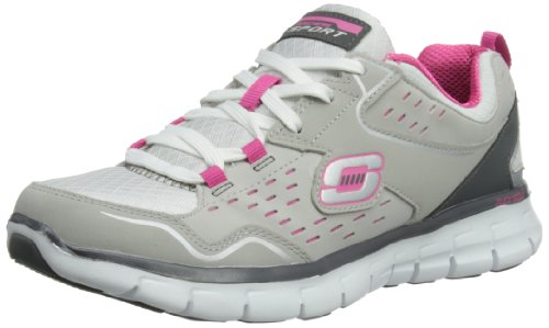 nbsp;A Grey Hot Lister Synergy Skechers Trainers Women's Light Pink Grey 65PPgqxfw