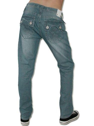 LAGUNA BEACH JEANS CO. Herren Jeans Hose - PHANTOM HUNTINGTON BEACH -34
