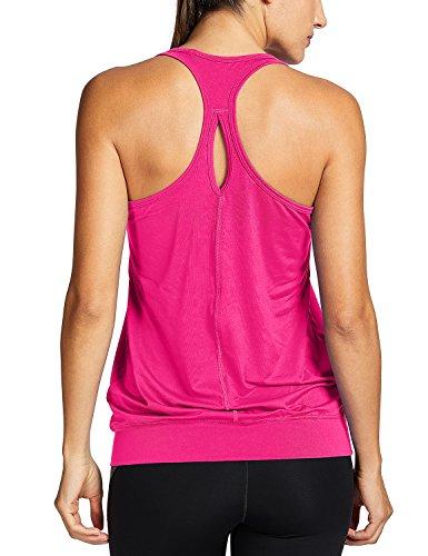 SYROKAN Womens Racerback Athletic T shirt
