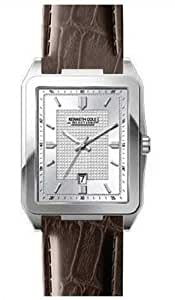 Kenneth Cole New York Leather Collection Silver Dial Men's watch KC1483 Watch