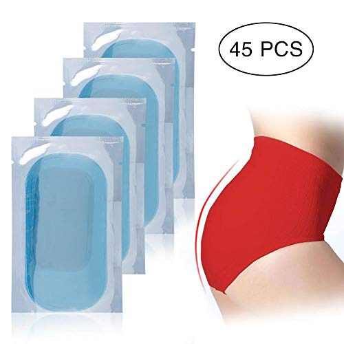 EMS Trainer Replacement Gel Inirritative Conductive Hydrogel Pad High Adhesion Exercise Gel Training Stickers Accessories (45Pcs(15 packs))