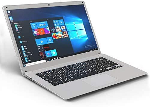 Laptop 14 Inch, Winnovo V146, Windows 10, 4GB RAM, 32GB ROM, Intel Atom Quad Core Processor, 19201080 FHD IPS Display, HDMI, Silver