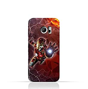 HTC 10 TPU Silicone Protective Case with Iron Man Design