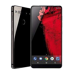Essential Phone (128GB + 4GB RAM) 5.71in QHD, Water Resistant IP54, GSM/CDMA Factory Unlocked (AT&T/Sprint/T-Mobile/Verizon) – Black Moon (Renewed)