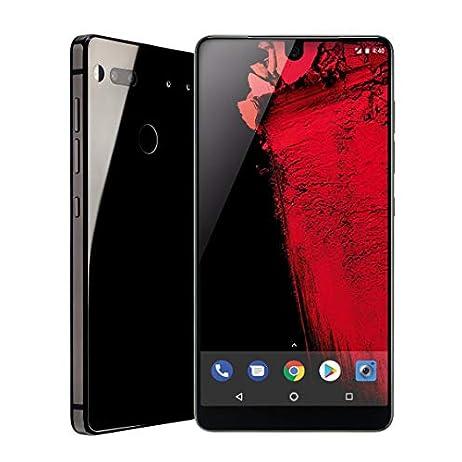 Essential Phone (128GB + 4GB RAM) 5.71in QHD, Water Resistant IP54, GSM/CDMA Factory Unlocked (AT&T/Sprint/T-Mobile/Verizon) - Black Moon (Renewed) 1