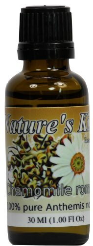 Nature's Kiss 100% Pure Chamomile Roman Essential Oil, 1 Ounce