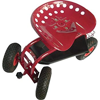 Rolling Garden Seat with Turnbar  sc 1 st  Amazon.com & Amazon.com : Best Choice Products Garden Cart Rolling Work Seat ... islam-shia.org