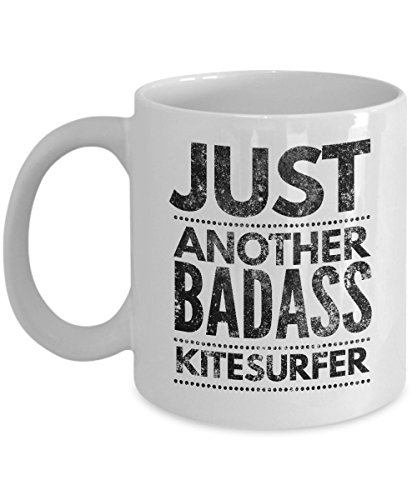 Just Another Badass Kitesurfer Coffee Mug - Cool Coffee Cup