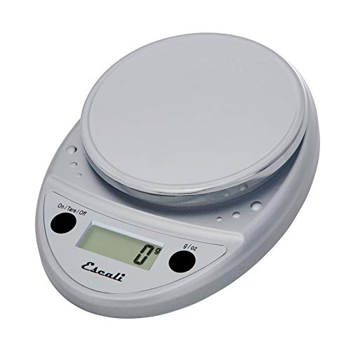 Escali Primo P115C Precision Kitchen Food Scale for Baking and Cooking, Lightweight and Durable Design, LCD Digital…