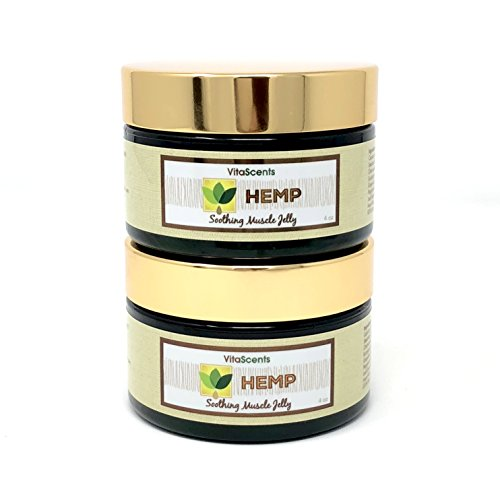 Hemp Soothing Muscle Jelly for Muscular Pain Relief 2 PACK