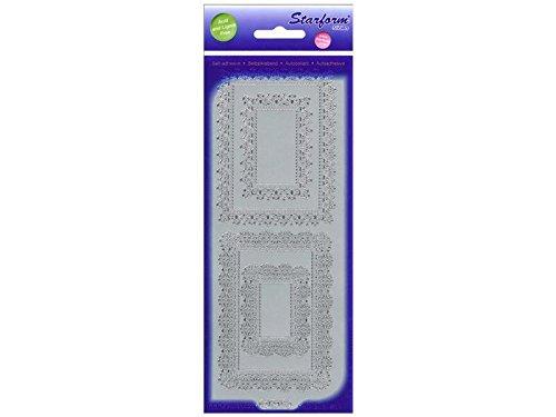 Starform FRAMES 1290 Silver Peel Stickers - Frame Outline
