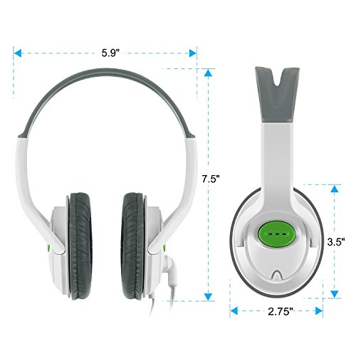 insten headset headphone with mic compatible with xbox 360 wireless controller white desertcart. Black Bedroom Furniture Sets. Home Design Ideas