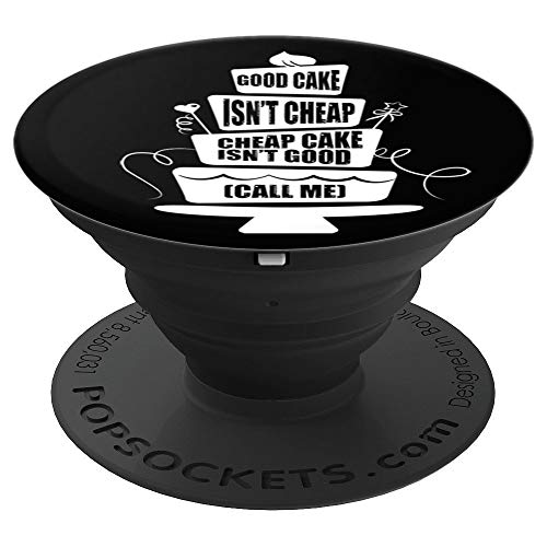 Funny Cake Decorator Baker Decorating - PopSockets Grip and Stand for Phones and - Phone Decorator