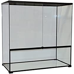 "Reptile Treasures 23803 Glass Terrarium, 35"" x 18"" x 35"""