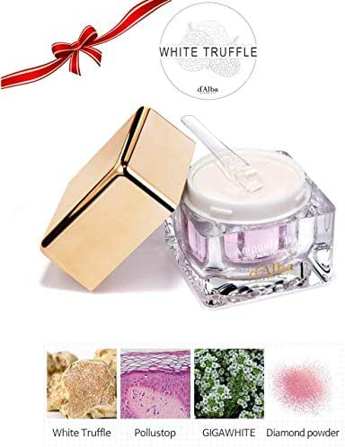 Korean Cosmetics d' Alba Piedmont White Truffle Whitening and Rejuvenation Cream All Natural Ingredients (White Truffle Whitening)
