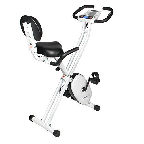 SportPlus Bicicleta Estática Plegable con Control de Aplicaciones ...