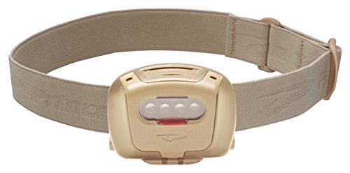 (Princeton Tec Quad Tactical MPLS LED Headlamp (78 Lumens, Tan))
