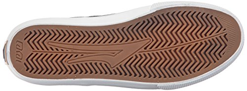 Lakai Scarpe Riley Hawk Chocolate Suede Surf Skate AI17 Midnight Textile