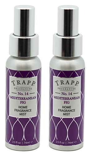 Trapp Home Fragrance Mist, No. 14 Mediterranean Fig, 2.5-Ounce (2-Pack)