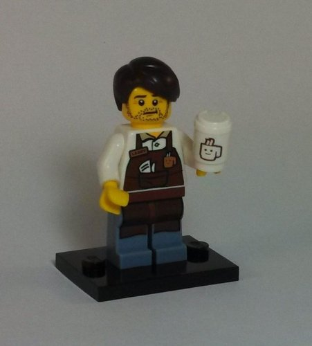 Price comparison product image LEGO The Movie - Series 12 Mini-Figures - Larry The Barista Figure