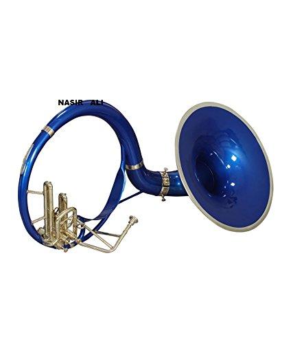 Nasir Ali Sousaphone Bb 21'' Blue by NASIR ALI