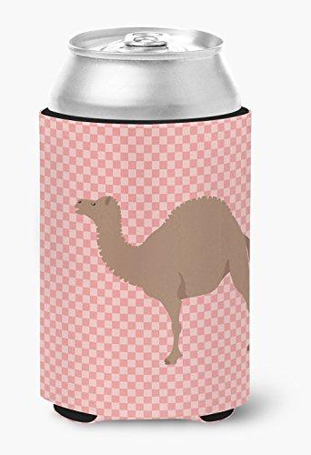 Caroline 's Treasures bb7819cc F1híbrida Camel rosa Check decorativo, puede Hugger, multicolor