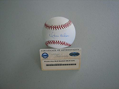 Moises Alou Autographed Signed Oml Baseball - Steiner - Authentic Memorabilia ()