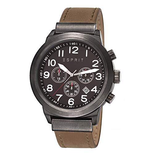 Esprit Mens Baxter Analog Dress Quartz Watch (Imported) ES108041002