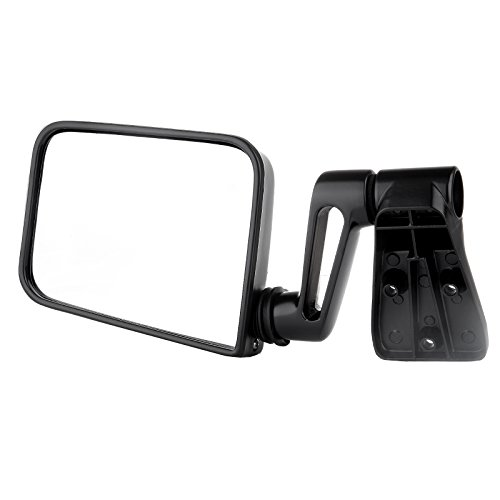 Jeep Towing Mirrors (Towing Mirrors ECCPP High Performance Passenger Side Automotive Exterior Mirrors for 1987-2002 Jeep SUV 55027208(exclude 1996)with Manual Operation Feature)