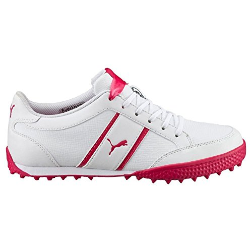 Puma MonoLite Cat Wmns Leather – White de Rose Red