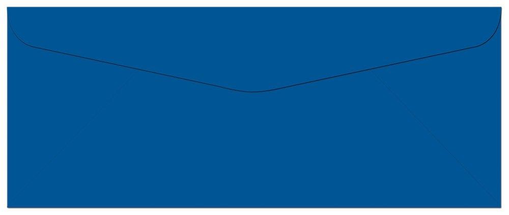 100 Cobalt Blue #10 Envelopes - 9.5 x 4.125 - Standard Flap Note Card Cafe NCEVB0-001A100