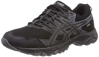 Asics Gel-Sonoma 3 G-TX Trail, Zapatillas de Running para Asfalto para Mujer, Negro (Black/Onyx/Carbon 9099), 37.5 EU