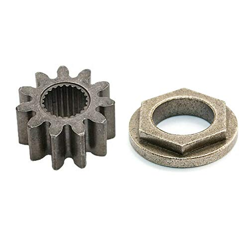 Aaron Steering Shaft Pinion Gear & Bushing for Cub Cadet LT1042 LT1045 LT1046 LT1050